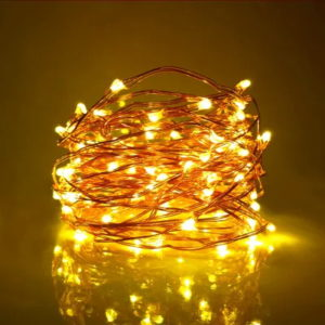 Led Copper String Lights Dc Powered Dc12v Nicesenselight
